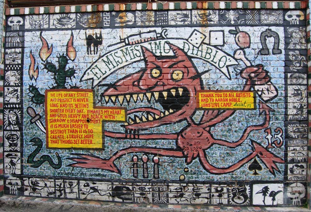 Graffiti Devil